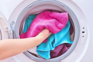 Cleaning of washing machine