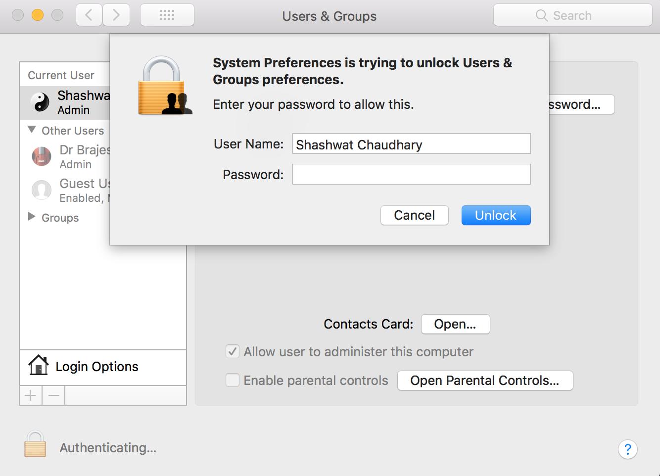 MacOS High Sierra login bug - Kali Linux Hacking Tutorials