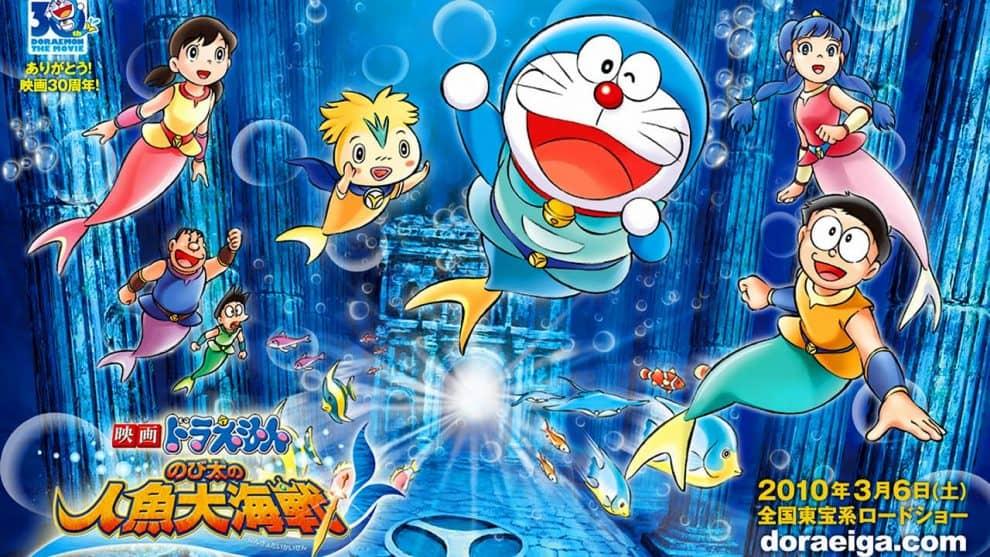 Doraemon The Movie Nobita Aur Ek Jalpari Full Movie Hindi Dubbed 720p (HD)   Old Toons 4 Life