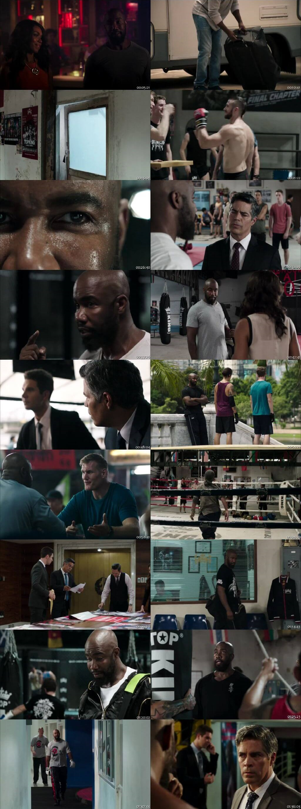 Screen Shot Of Never Back Down: No Surrender 2016 300MB Full Movie Hindi Dubbed Free Download 480P BRRip Small Size PC Movie