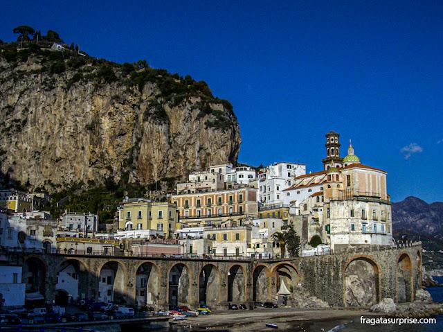 Atrani, cidade da Costa Amalfitana