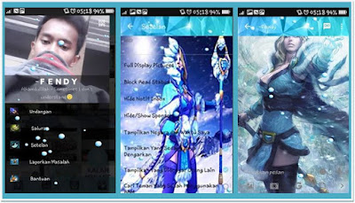 BBM Mod Tema Crystal Maiden Based V.2.12.0.9 APK