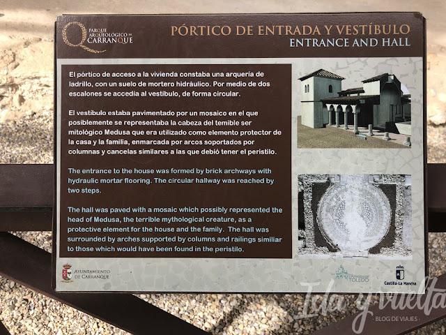 Parque Arquelógico de Carranque cartela