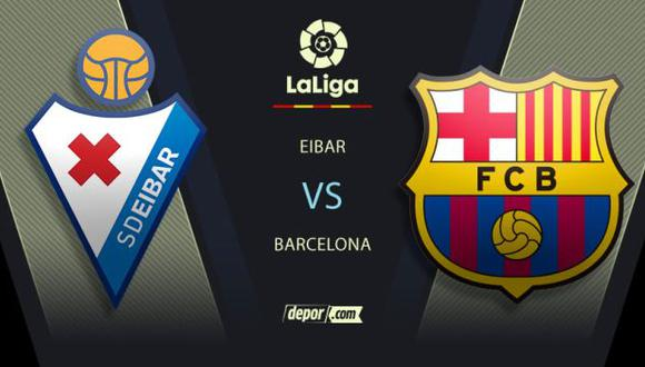 Barcelona vs. Eibar EN VIVO: sigue las incidencias EN DIRECTO por LaLiga Santander
