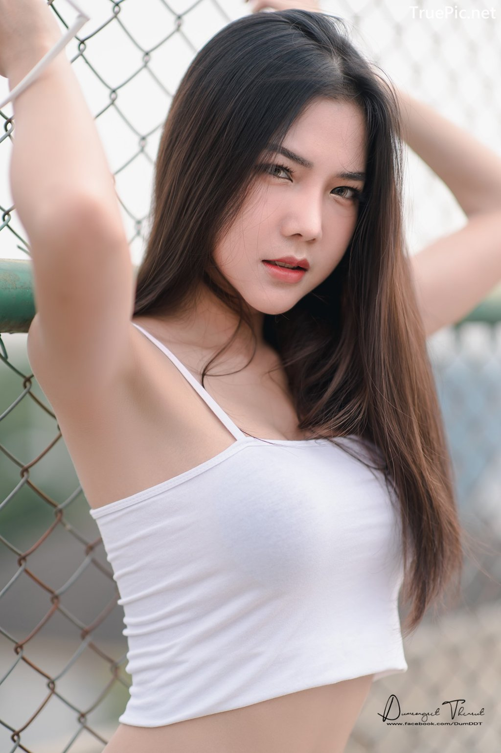 Image-Hot-Girl-Thailand-Phitchamol-Srijantanet-Sexy-Beauty-With-Sport-Bra-and-Monokini-TruePic.net- Picture-4