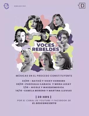 """Agencia Rebeldes estrena la segunda temporada de """"Voces Rebeldes"""" junto a El Desconcierto musica chilena música chilena"""