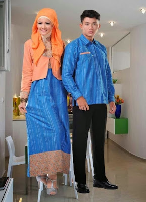 Model Baju Pesta Muslim Couple