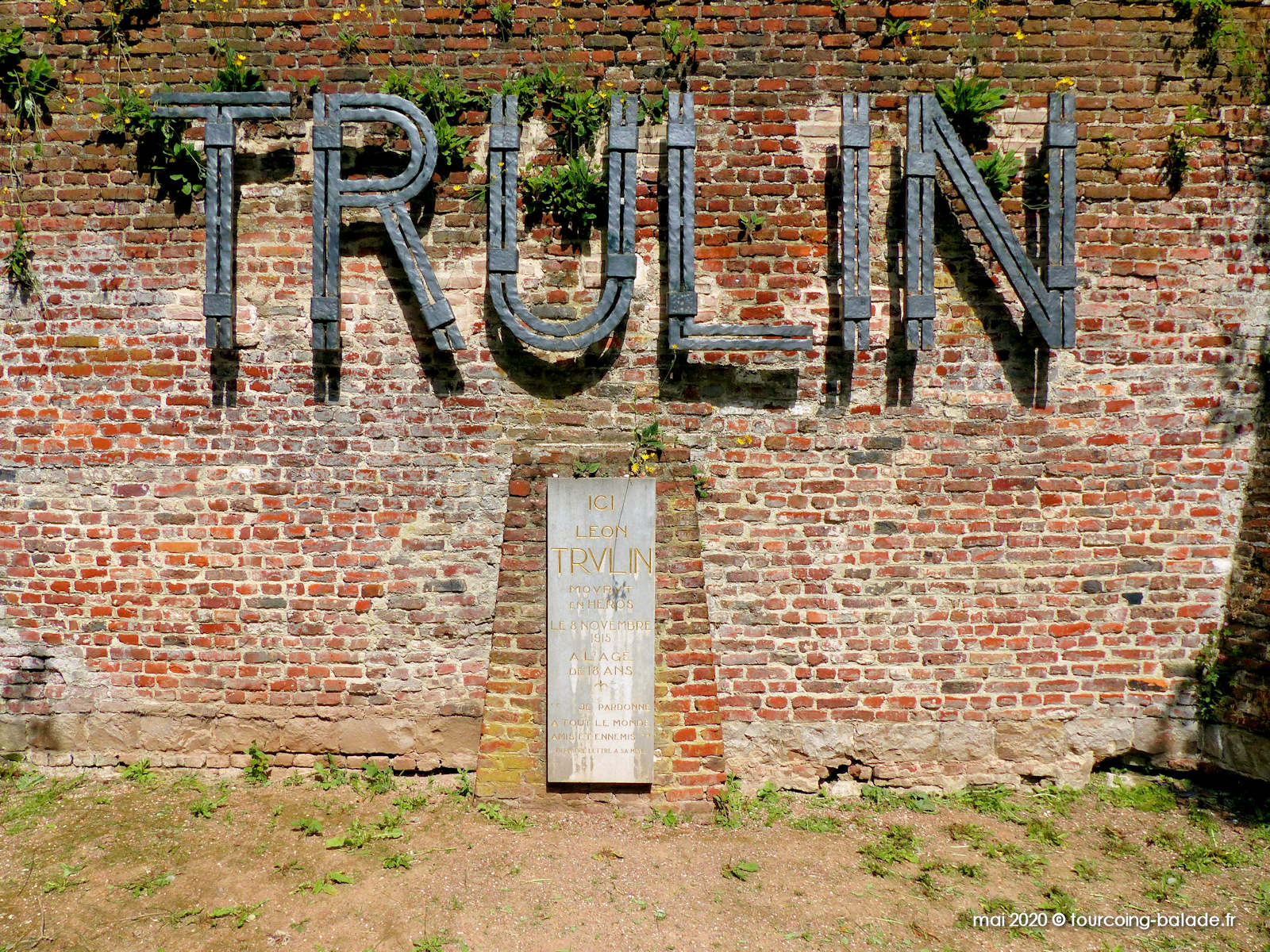 Lettres TRULIN, Citadelle Lille