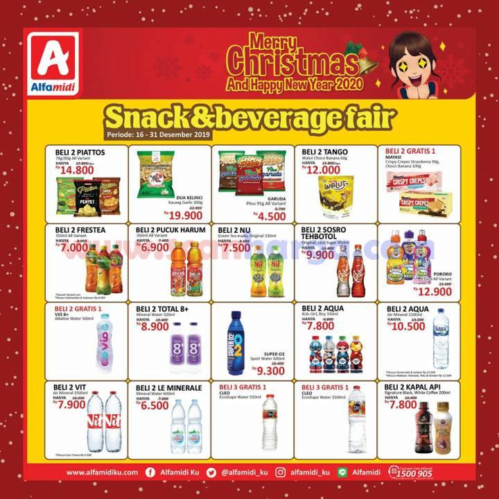Promo Alfamidi Snack Dan Beverages Fair Periode 16 31 Desember 2019 Scanharga