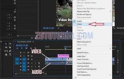 Cara Memisahkan dan Hapus Audio dari Video di Adobe Premier Pro CC