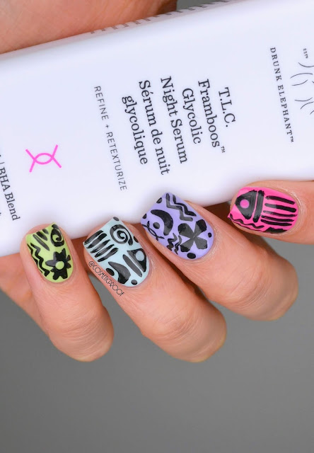 Drunk Elephant Nail Art