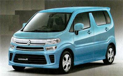 New 2017 Maruti Suzuki Wagon R Blue Veriant