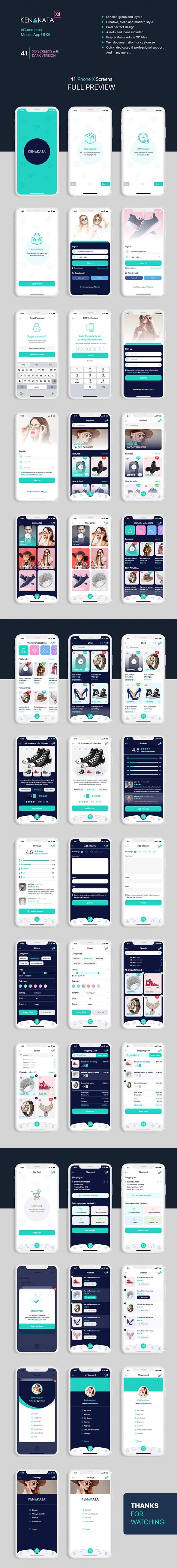 Best eCommerce Mobile App UI Kit