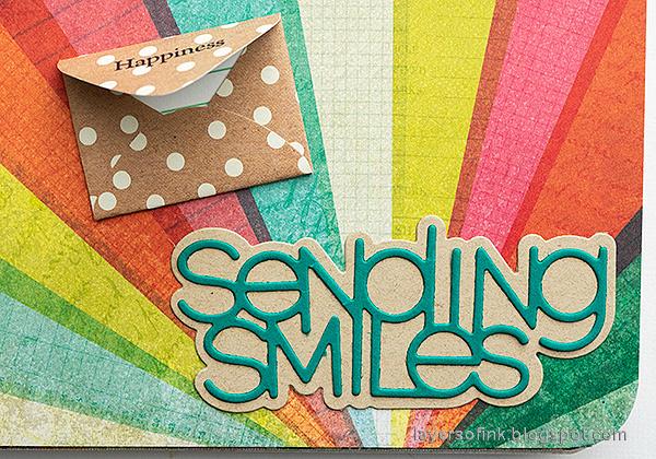 Layers of ink - Mini Album Tutorial by Anna-Karin Evaldsson. Mini envelopes.