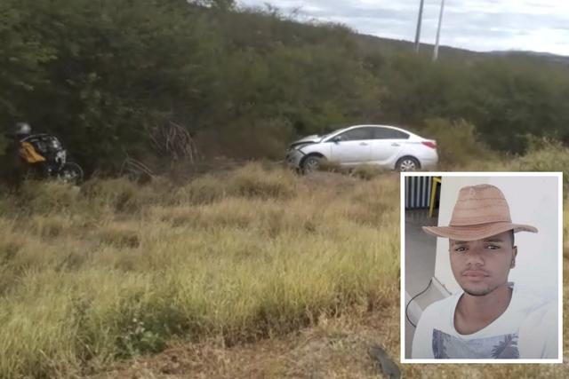 Jovem morre em acidente na BA-262 trecho entre Brumado e Aracatu