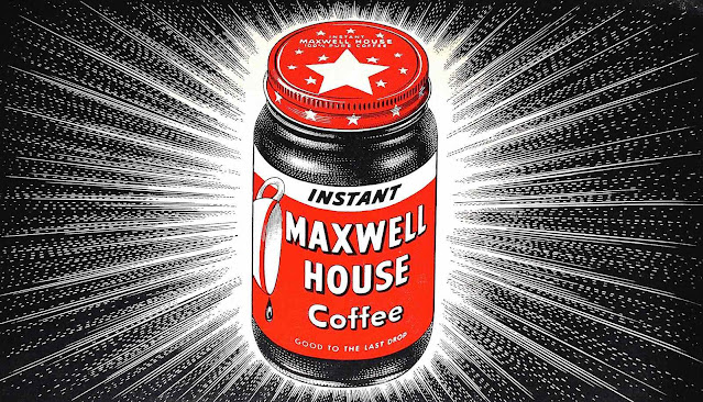 1940s Maxwell House Coffee with a starburst