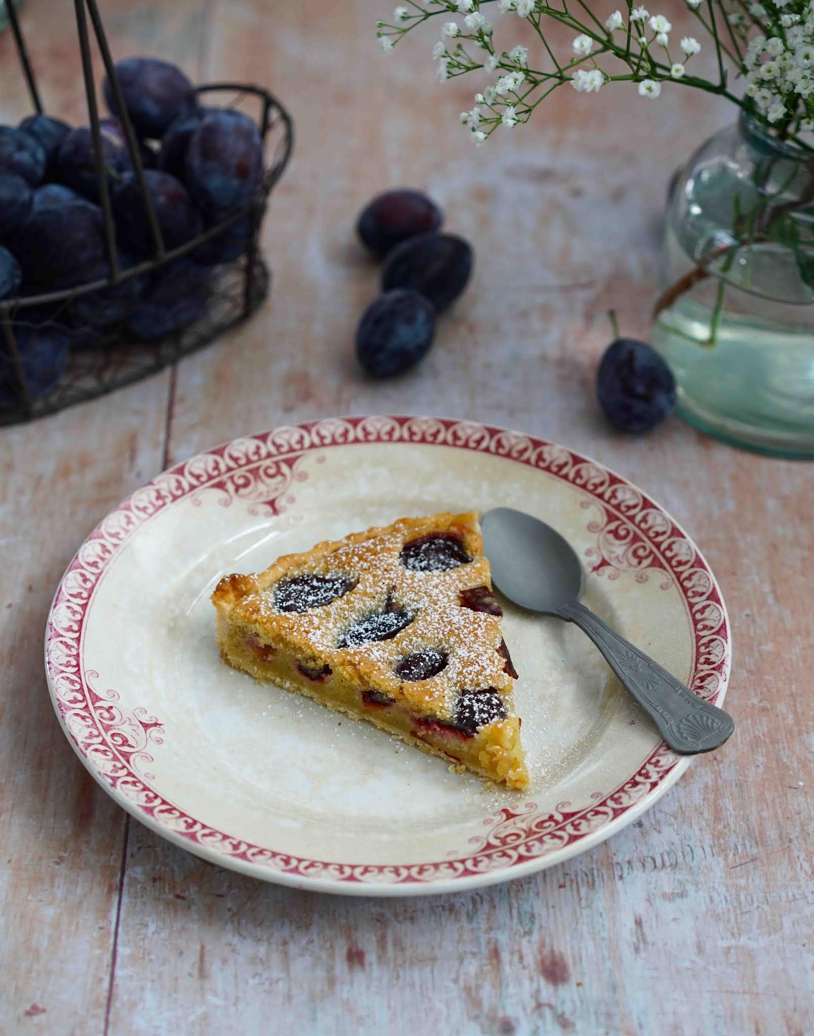 tarte facile aux prunes