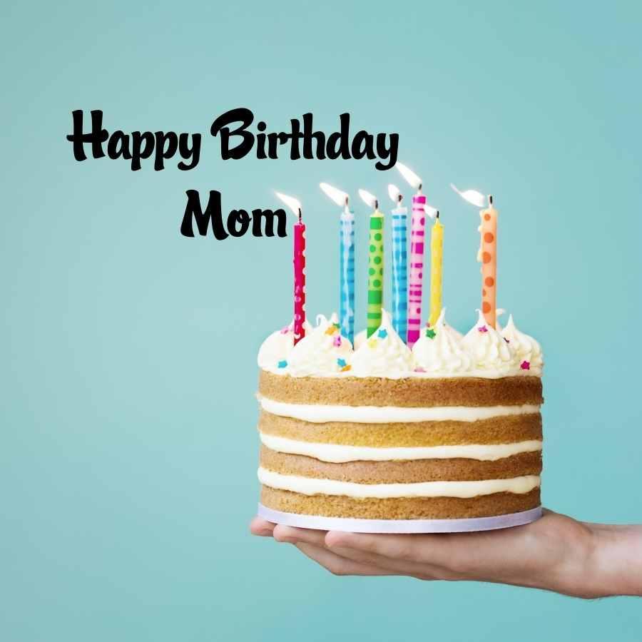 happy birthday mummy cake images