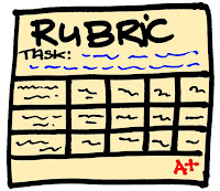 Image of generic grade rubric