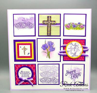 Easter Promise Stamp Set, Artisan Textures Stamp Set, Easter Sampler, Rick Adkins, Stampin' Up!