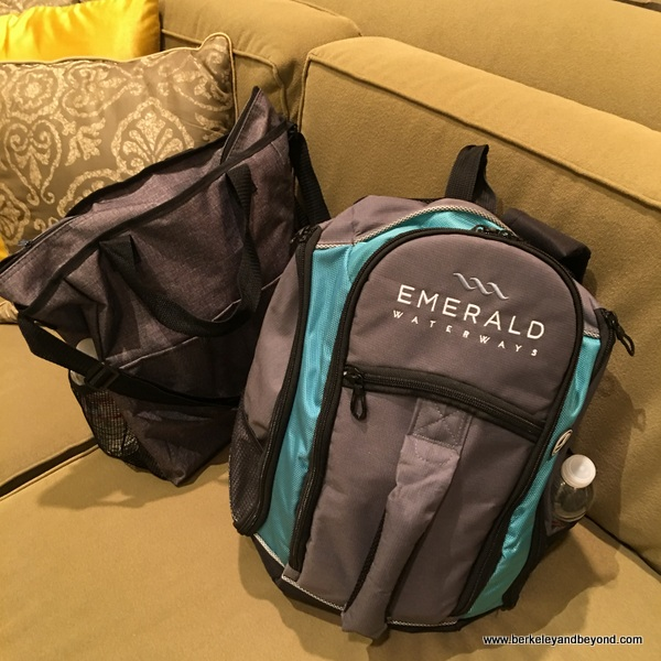 backpacks turned our visit to Taj Campton Place San Francisco into a staycation