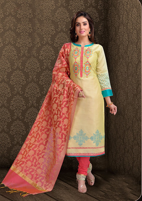 Cotton Casual Churidar Patters