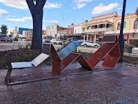 Goulburn Public Art | 'Chair of the Dog' by Jane Cavanough