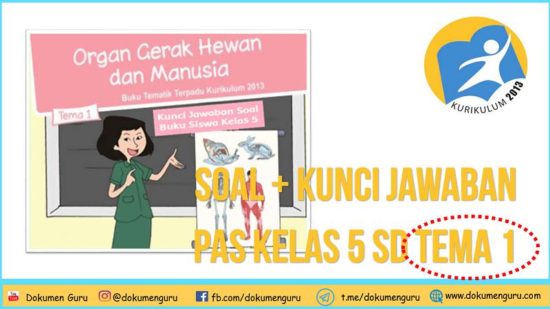 [Soal + Kunci Jawaban] PAS Kelas 5 SD Tema 1 Semester 1 Kurikulum 2013