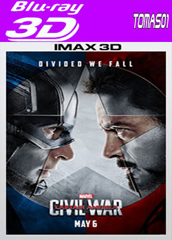 Capitán América: Civil War (2016) 3D Full HOU / SBS IMAX