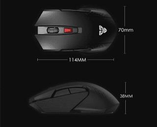 Gambar Fantech Raigor II WG10 Mouse Wireless Gaming