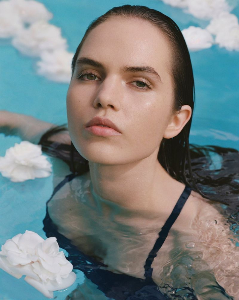 Lily Stewart fronts Chanel Hydra Beauty 2020 campaign.