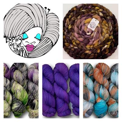 logo, roving, and variety of yarn