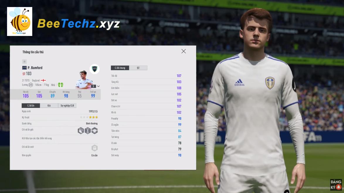 FIFA ONLINE 4 | Review Patrick Bamford 21 TOTS