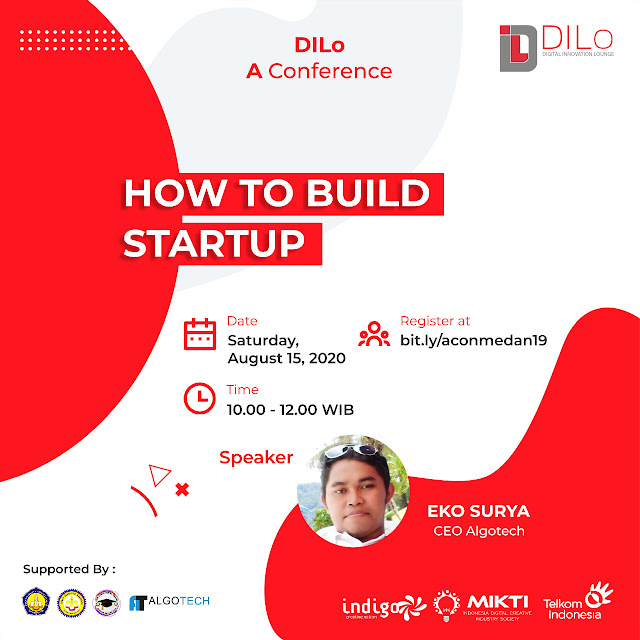 """Webbinar """"HOW TO BUILD STARTUP"""" DILo A Conference"""