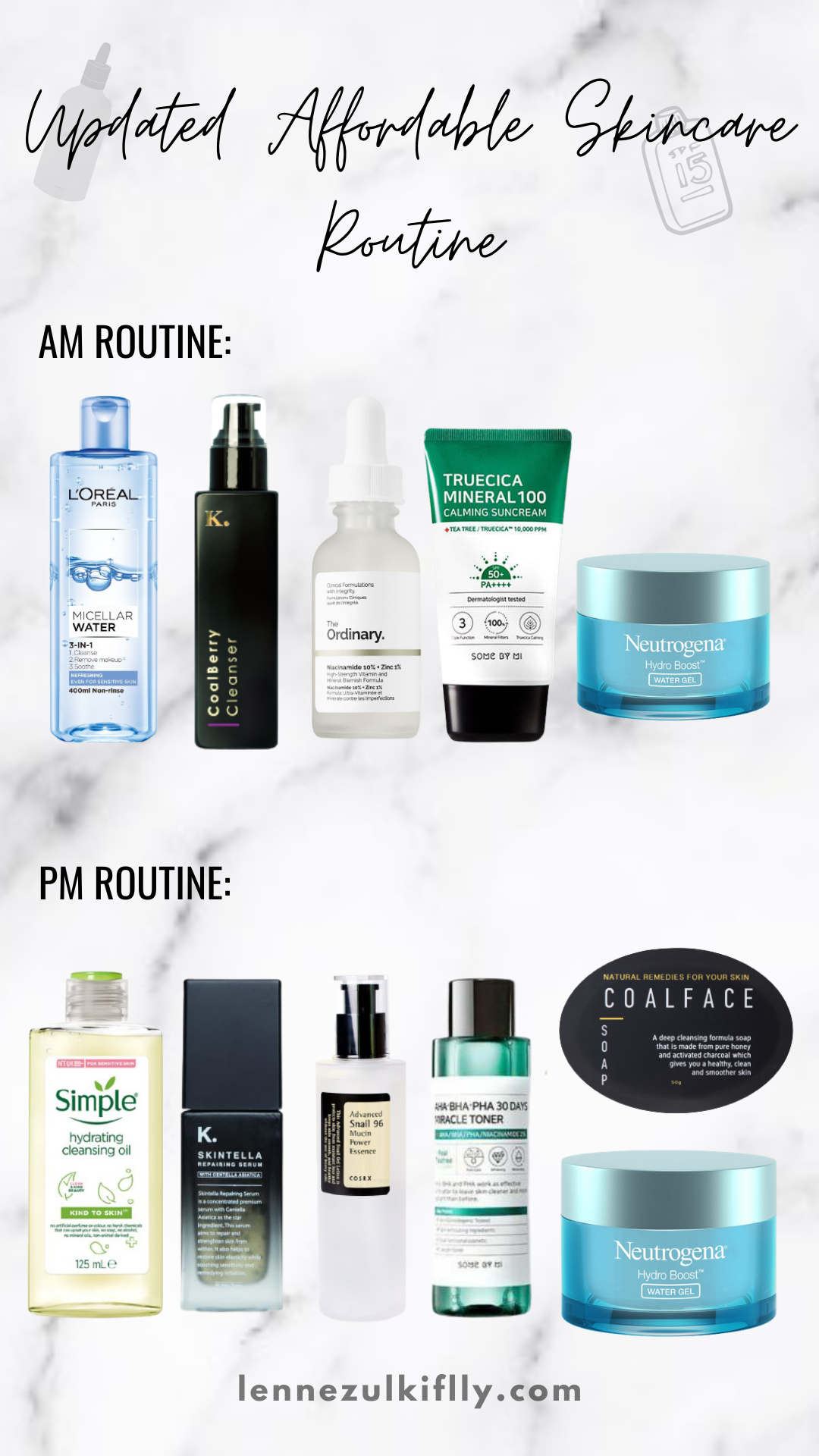 My Skincare Philosophy & Updated Skincare Routine