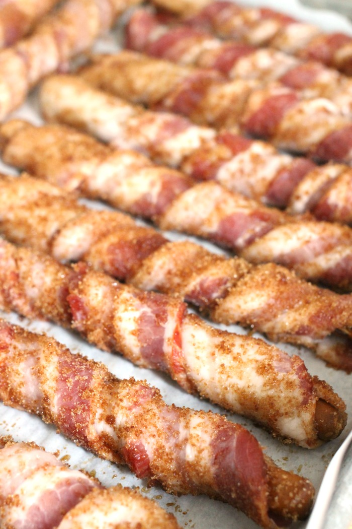 Bacon Wrapped Brown Sugar Pretzels Recipe