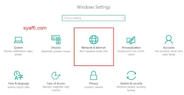 Cara Menjadikan Laptop  Komputer sebagai HOTSPOT pada Windows 10