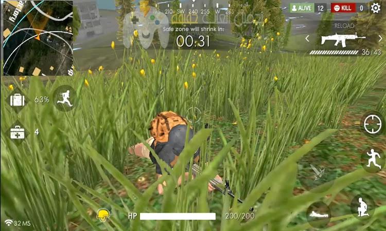 تحميل لعبة فرى فاير Free Fire - Battlegrounds للاندرويد مجانا