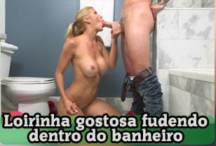 Casal fudendo gostoso no banho no video de sexo