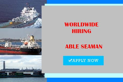 Seaman Jobs Rank Able Seaman