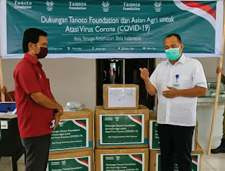 Zahir Apresiasi Tanoto Fondation Dalam Upaya Pencegahan Covid 19