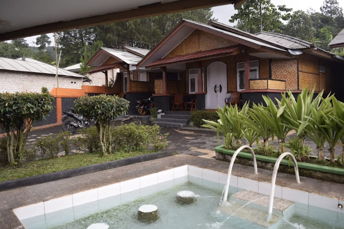Villa perkamar murah di ciater
