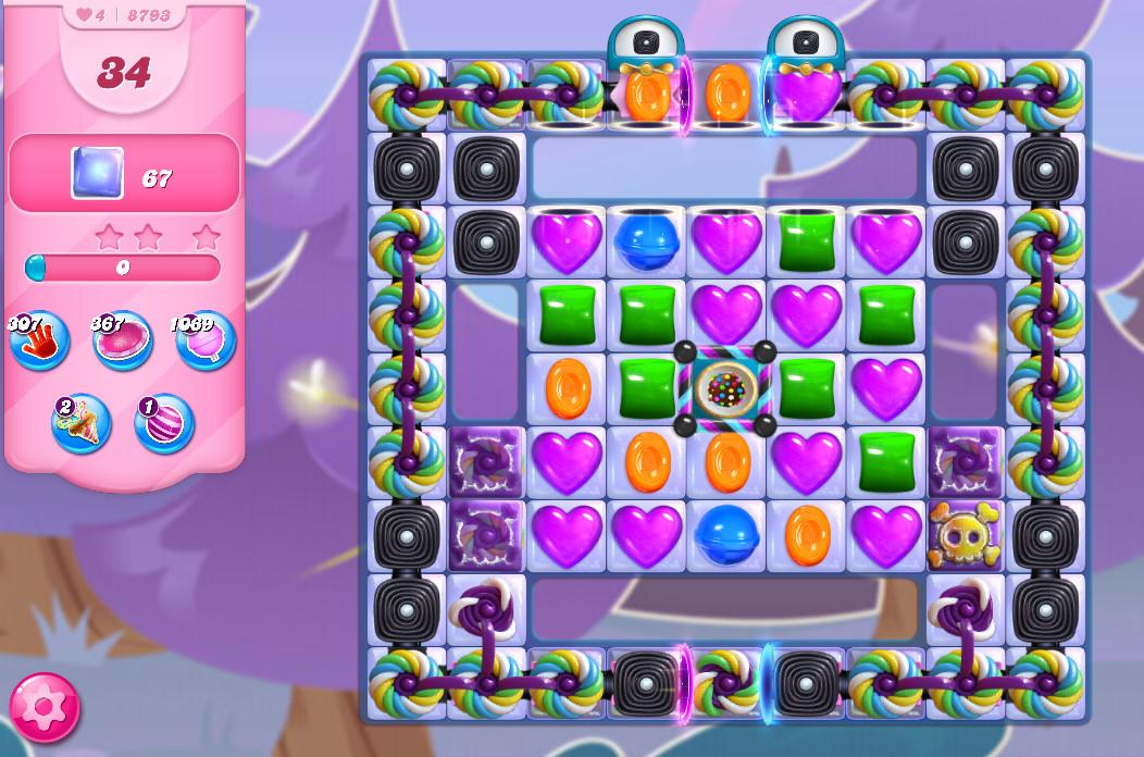 Candy Crush Saga level 8793