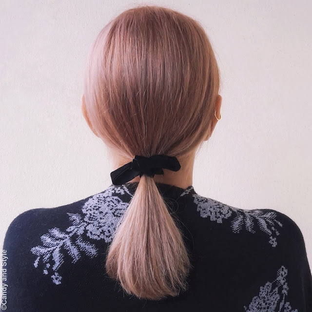 Shoulder-length haircut