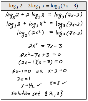 Printables of Logarithmic Equations Worksheet With Answers