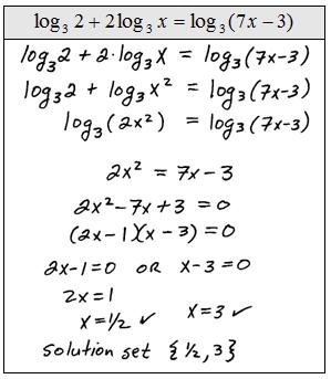Solving Logarithmic Equations Worksheet - Delibertad