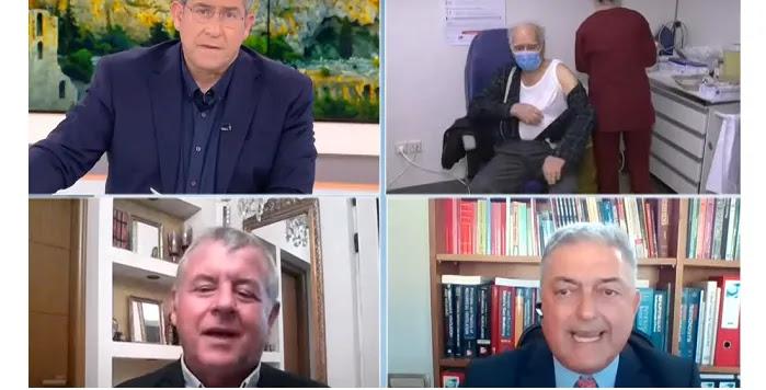 Βασιλακόπουλος: Οι μορφωμένοι εμβολιάζονται – Γιαννάκκος: Λέει όσους δεν κάνουν το εμβόλιο αμόρφωτους – ΒΙΝΤΕΟ