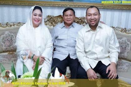 Unggah Foto Pertemuan Prabowo, Titiek Soeharto, dan Anak Mereka, Tutut Soeharto Sampaikan Doa