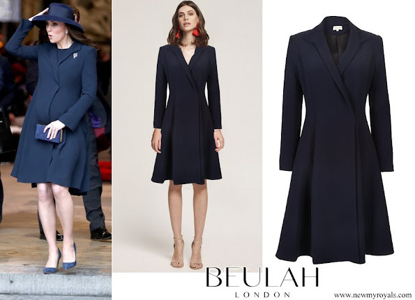 Kate Middleton wore Beulah London Chiara coat