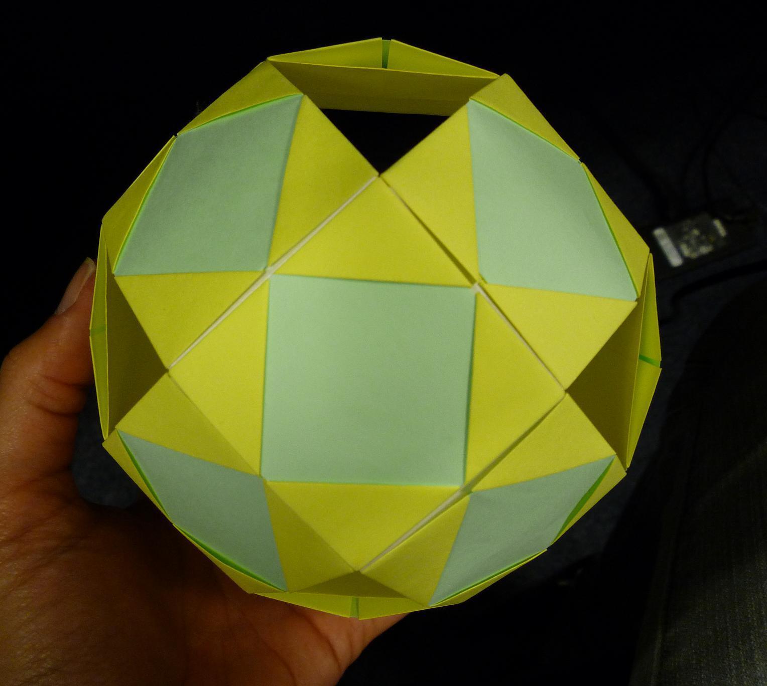 Creaciones en Origami: Esfera / Sphere - photo#36